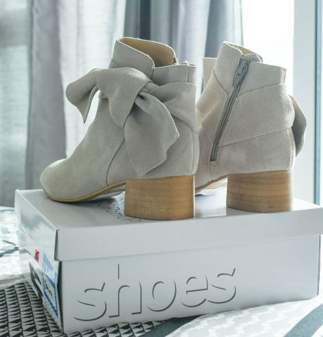 My Early Fall Pick Up + Grey Ankle Boots Under $100