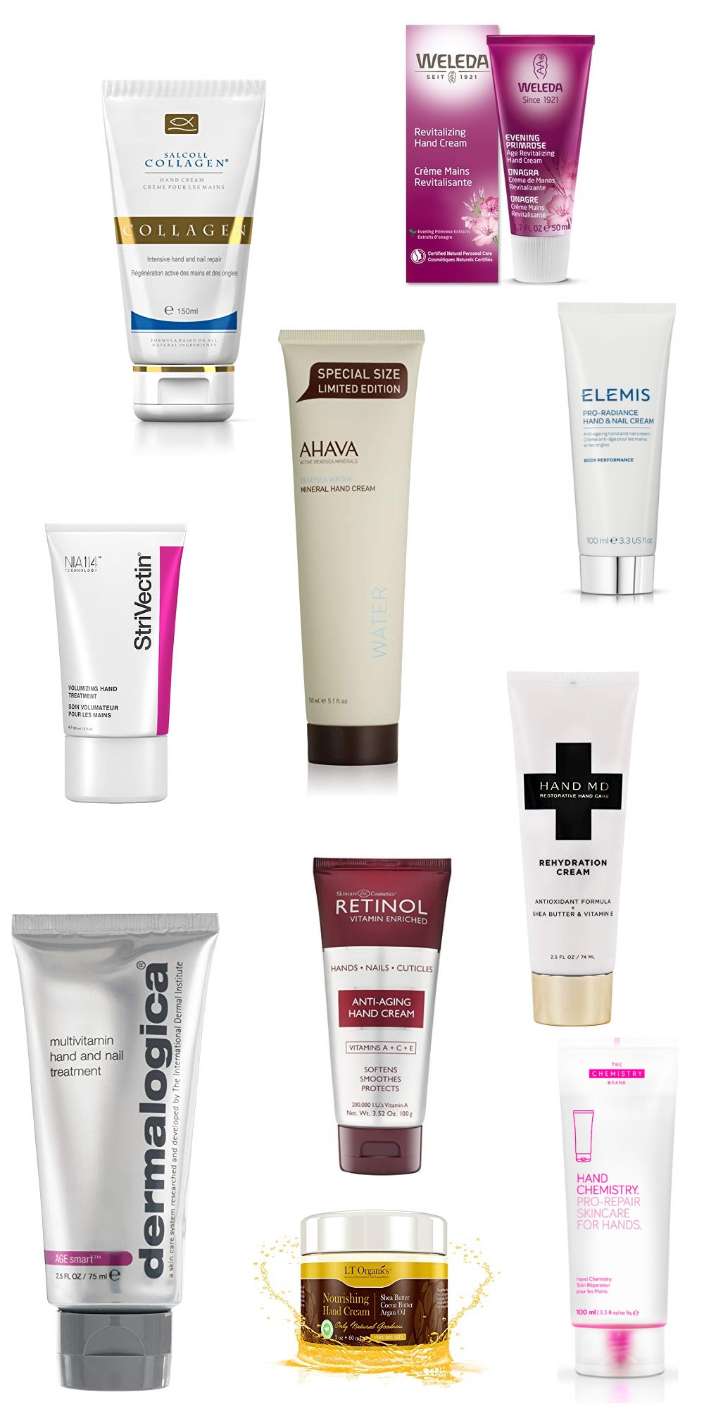 best hand creams for dry wrinkled hands