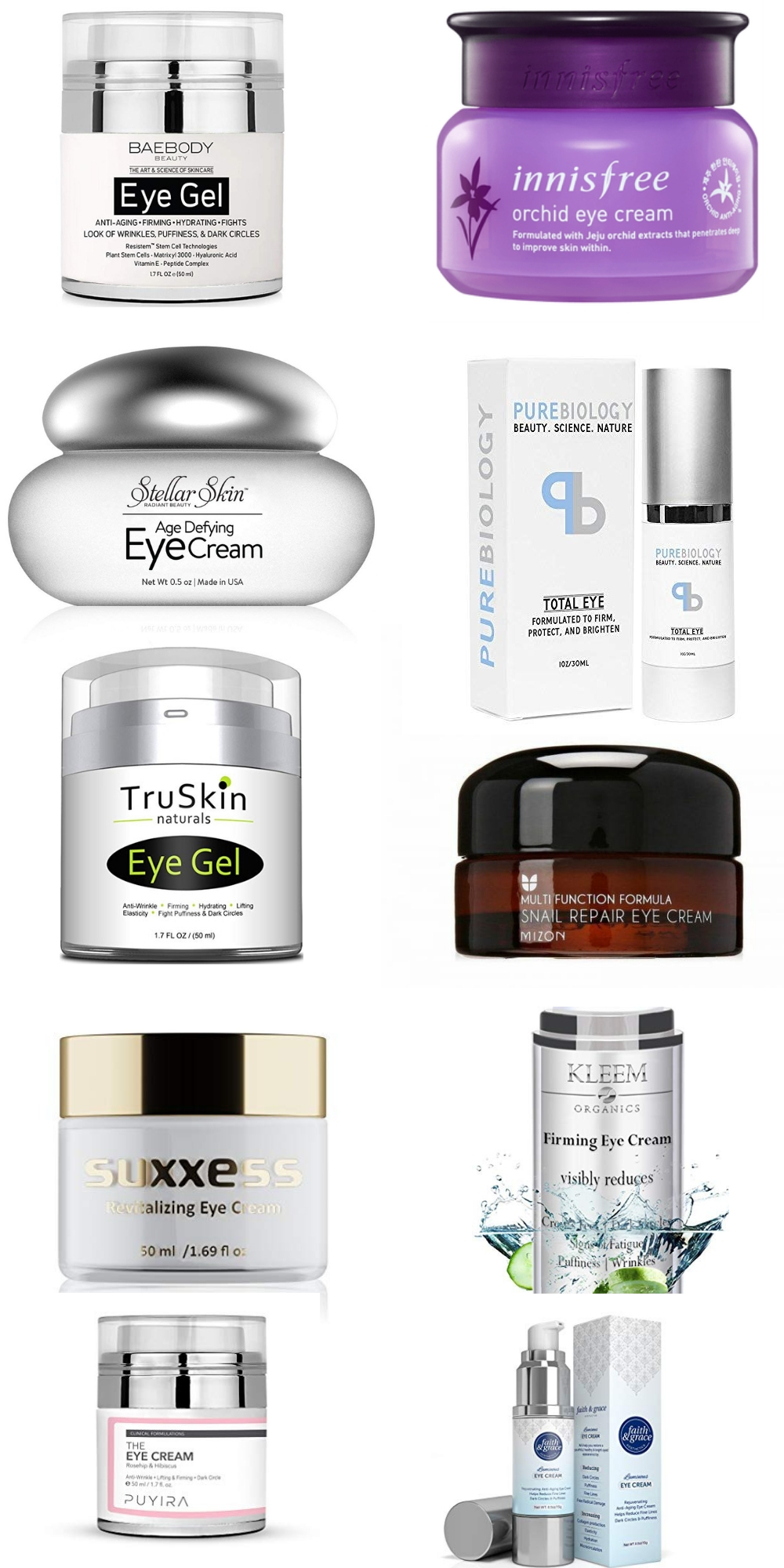 best korean eye creams for dark circles