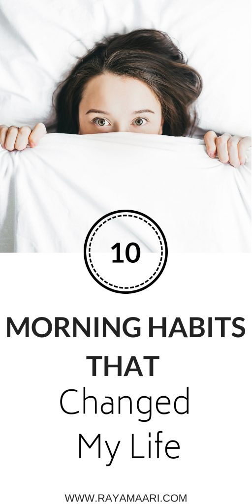 Whether you are a morning person or not, establishing healthy morning routines can set a positive tone for the rest of your day. Click this article to read on how to improve your life #selfcaretips #mornigroutine