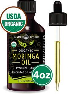 benefits of moringa oil on skin
