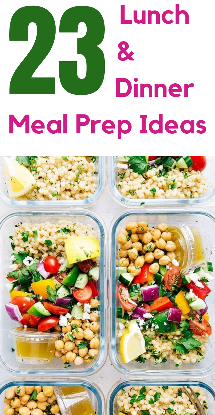 Meal prepping is super efficient time saving and more. I'm sharing my favorite super simple meal prep recipes that are easy and delicious!
