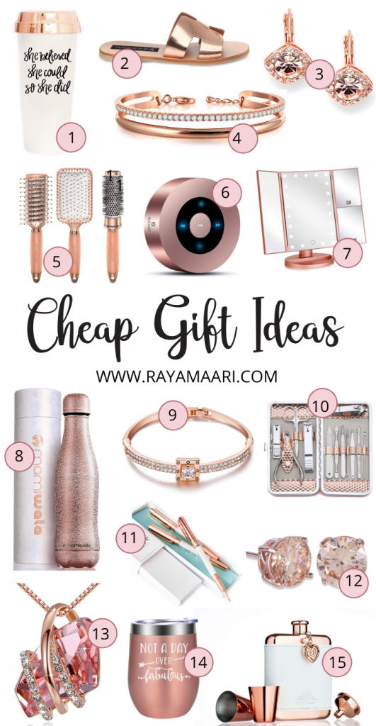 cheap Christmas gift ideas for her