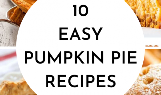 10 Easy Pumpkin Pie Recipes For Thanksgiving Dessert