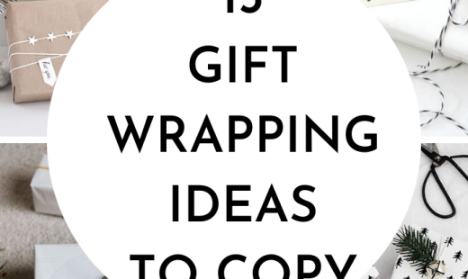 13 DIY Christmas Gift Wrapping Ideas