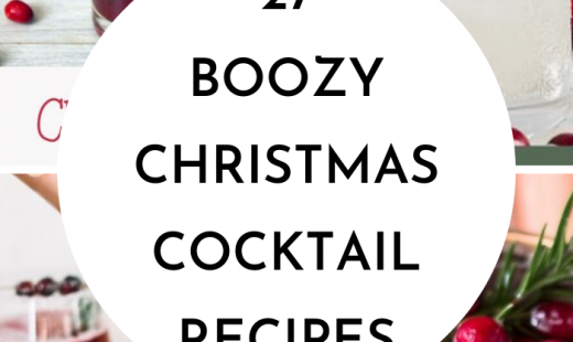 27 Christmas Cocktail Recipes For A Crowd