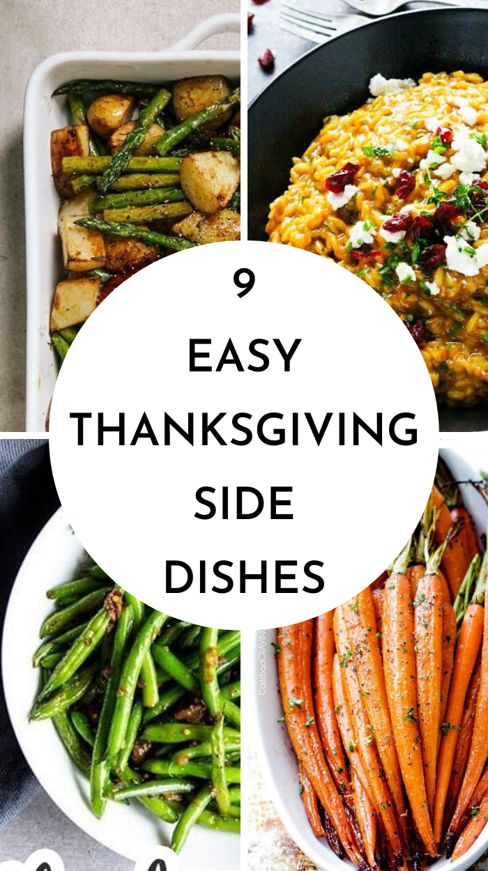 Recipes for Thanksgiving side dishes that will be perfect with your Thanksgiving Dinner #Thankgivingdinner #thanksgivingsiderecipes #ThanksgivingSideDishes