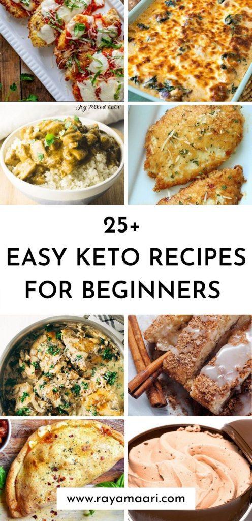 Easy Keto Dinner Recipes To Try Now / keto dinner recipes / keto meal plan / easy keto recipes / keto dinners for family / keto dinner ideas