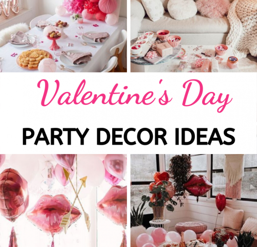 30 Valentine's Day Party Decorations For Galentine's