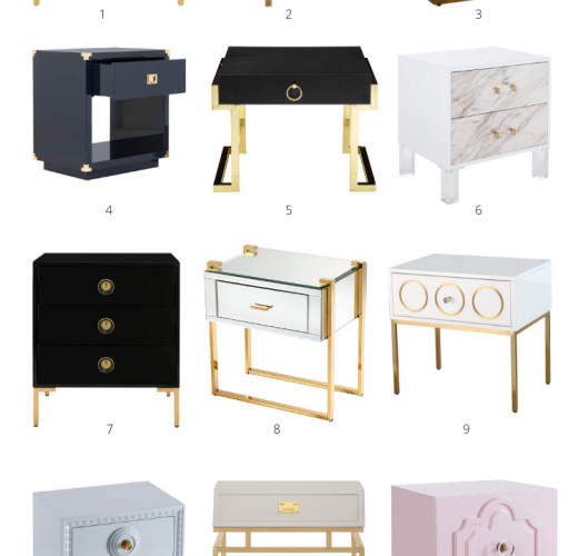 15 Glam Bedside Tables With Drawers