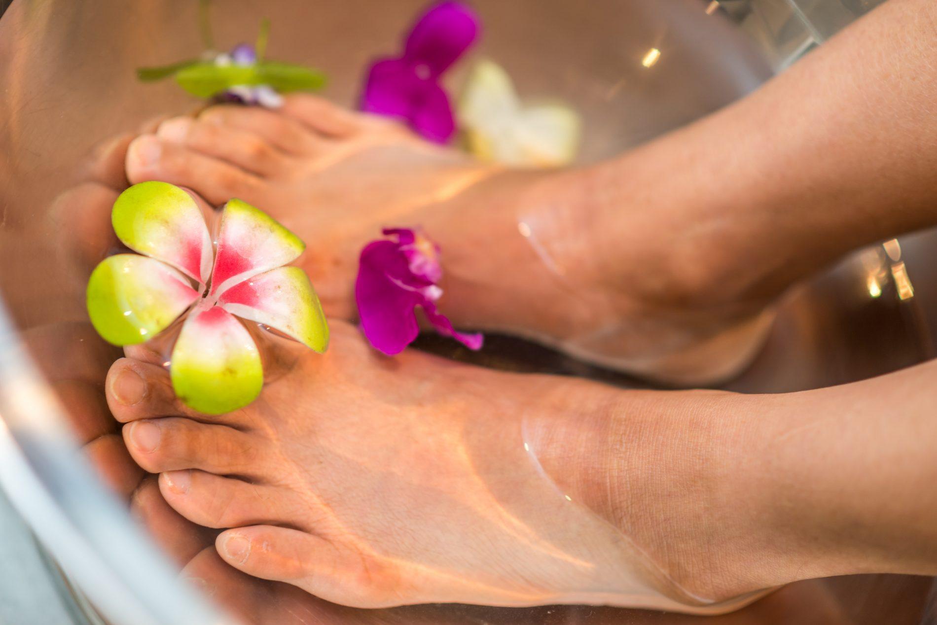 beautiful feet pedicure