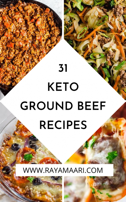 30 Keto Ground Beef Recipes To Try Now