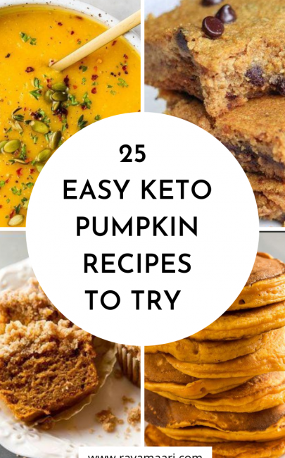 25 Easy Keto Pumpkin Recipes – So Deliciously Good
