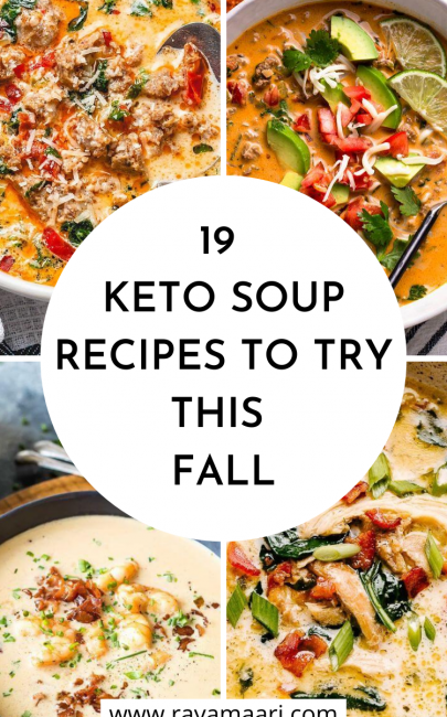 19 Best Low-Carb Keto Soup Recipes To Try This Fall