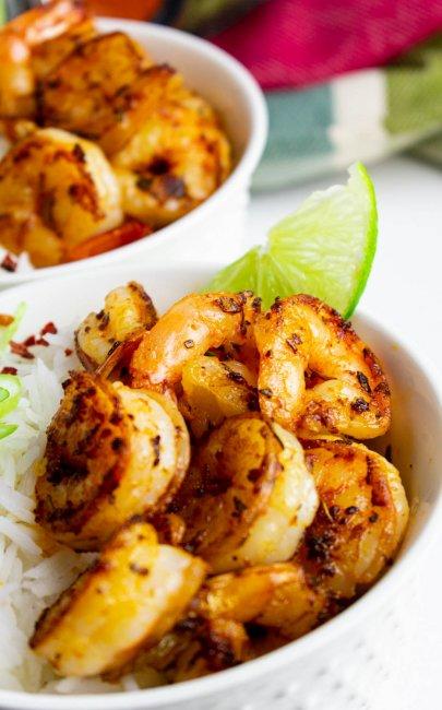 Pan-Fried Blackened Cajun Shrimp