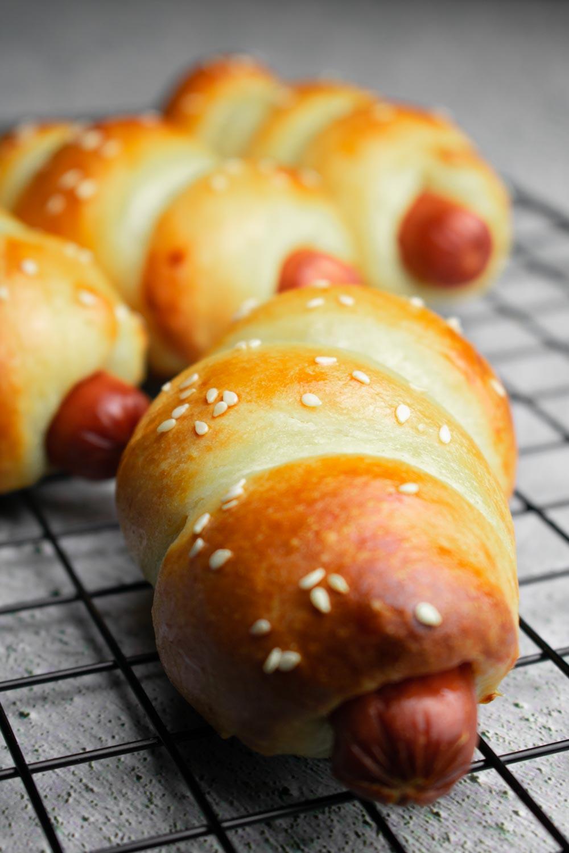Chinese hot dog buns recipe