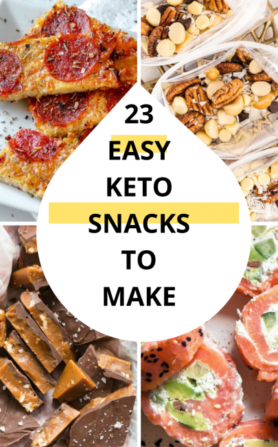 23 Keto Snacks Easy To Make