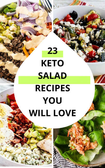 23 Keto Salad Recipes