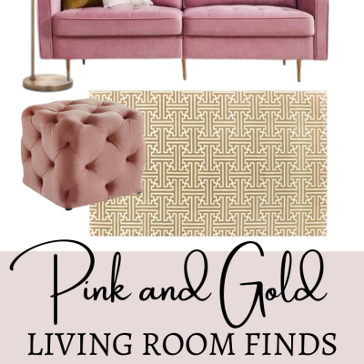 24 Pink and Gold Home Décor Ideas That Will Inspire You