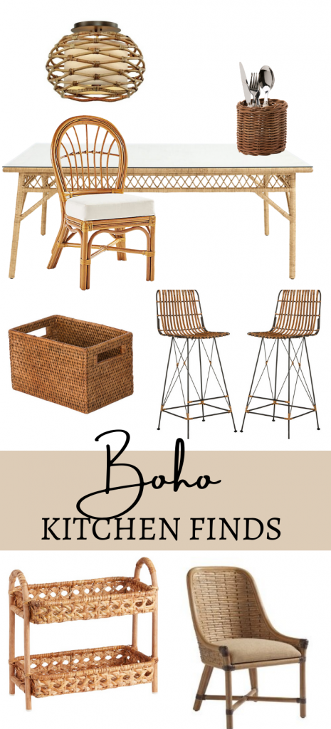 Boho Kitchen Décor Accessories